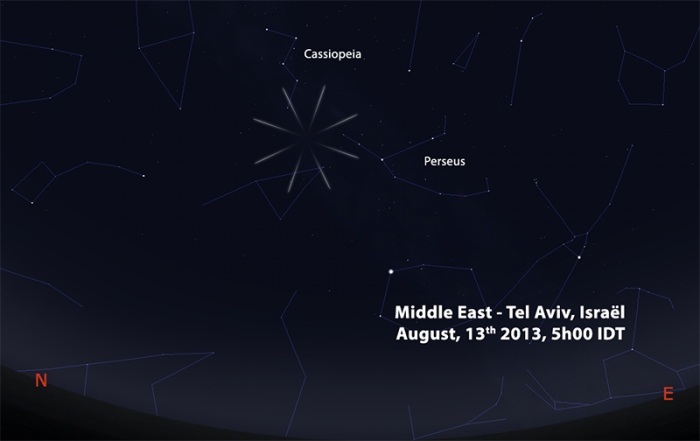 perseids 2013 MIDDLE EAST