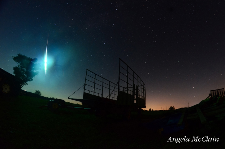 Ohio Fireball AMS Event 2132 – Photo CreditAngela McClain