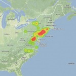Heat Map – AMS Event #2595-2013
