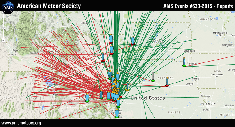 AMS Event #638-2015 - Reports