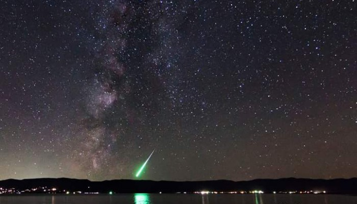 Fireball Over Bear Lake, Idaho