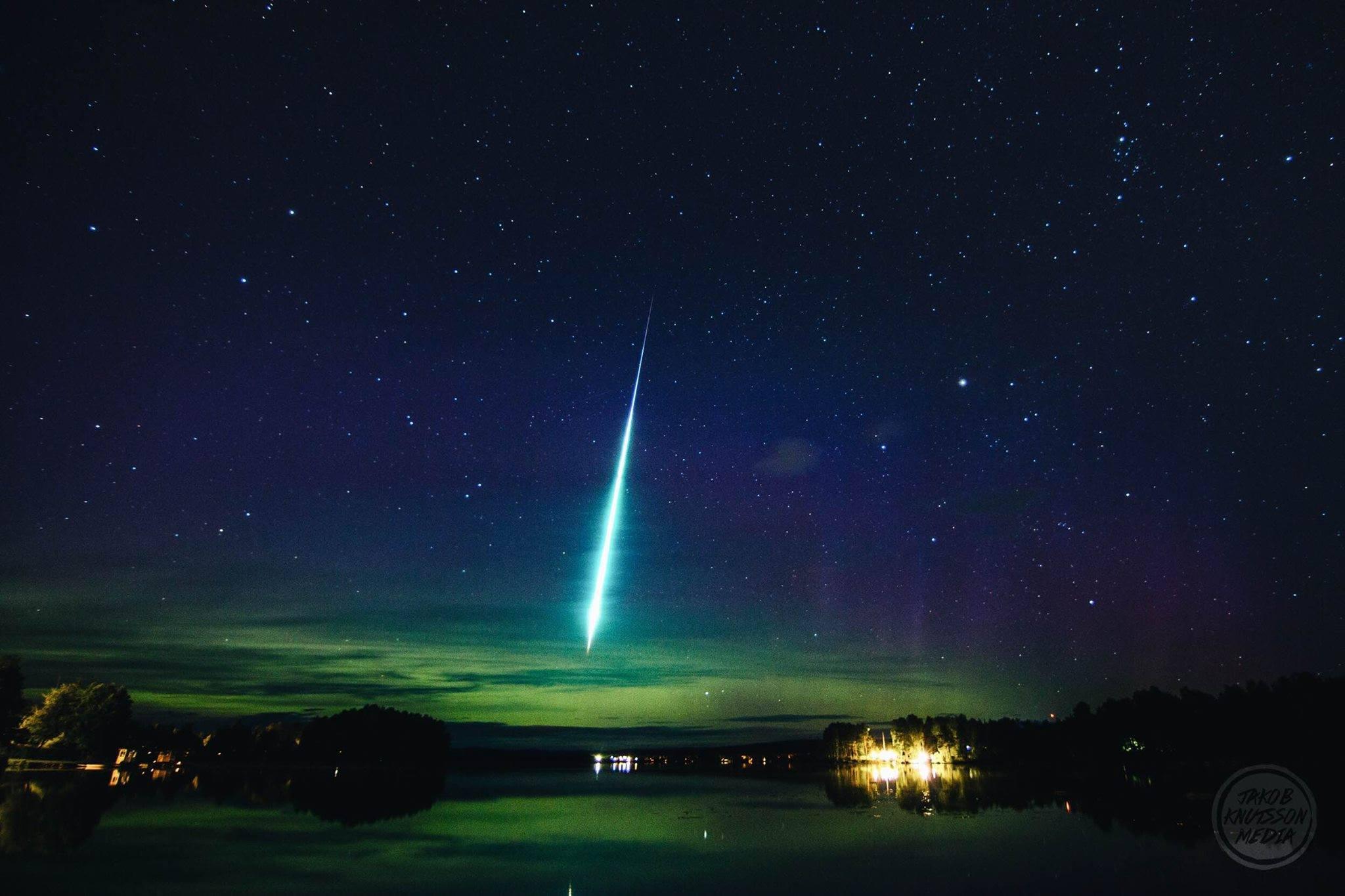 Картинка с метеором