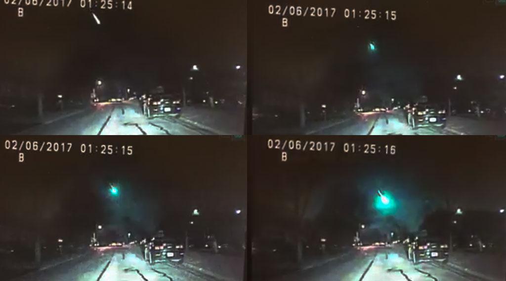 Risultati immagini per meteor sighting in Wisconsin