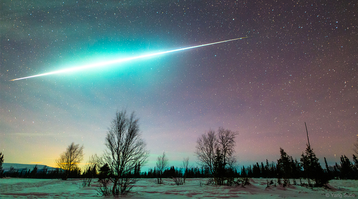 Meteor Activity Outlook For January 27 February 2 2018