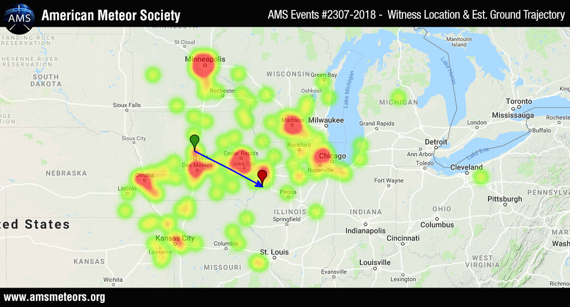 AMS Event #2307-2018 - Heatmap