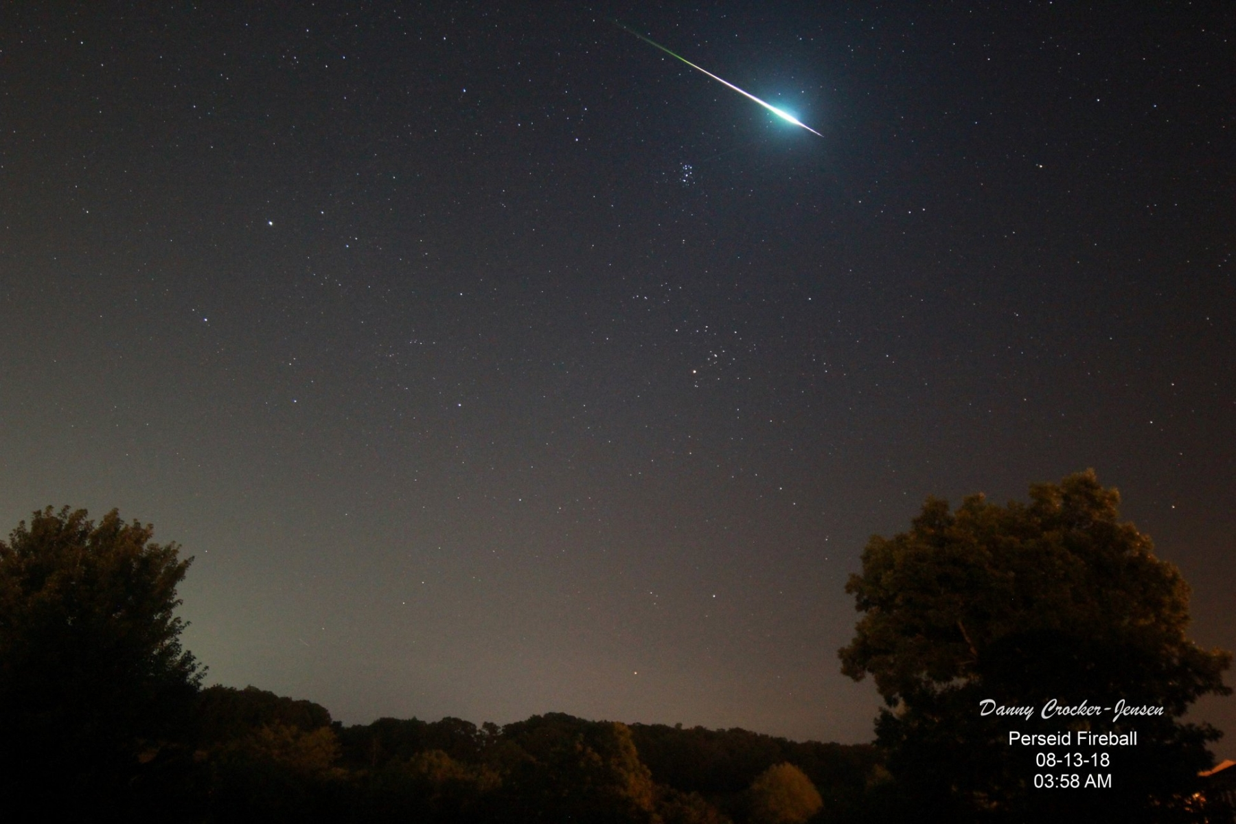 Meteor shower memphis