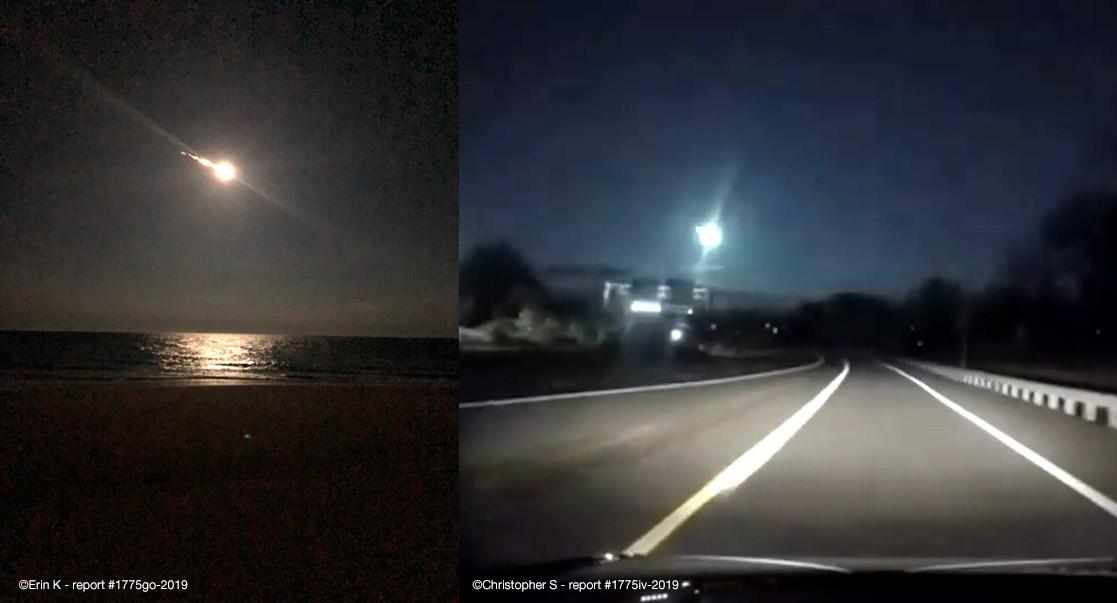 Fireball Sightings - American Meteor Society