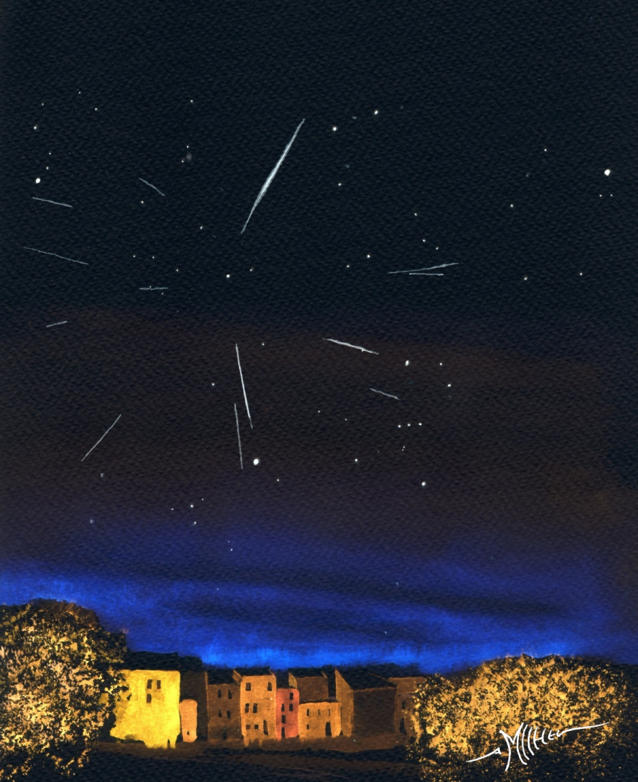 Meteor Activity Outlook for 07-13 December 2019